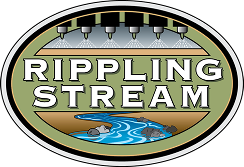 rippling stream finishing logo